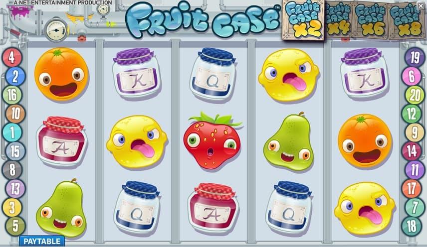 Fruitcase är ett nytt spel från netent