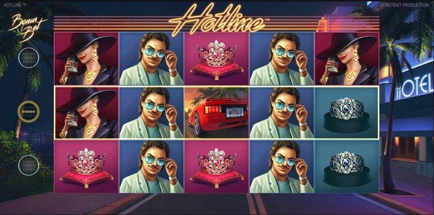 Hotline levererar spelglädje och bonusar