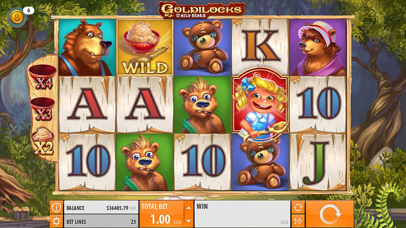 Goldilocks erbjuder trevlig grafik och flera bonusar