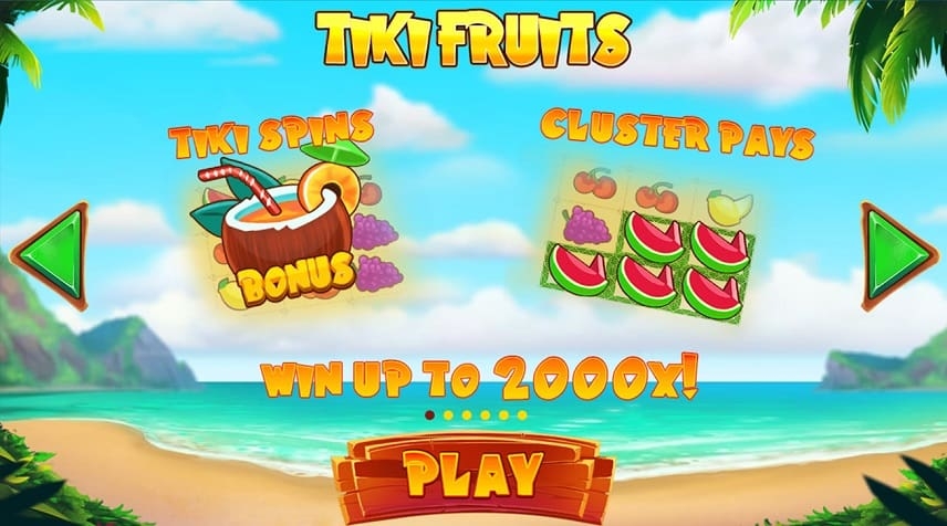 Bonusar i Tiki Fruits