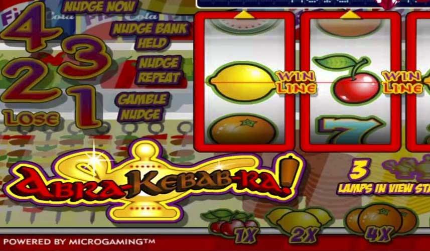 Double bubble slot machine