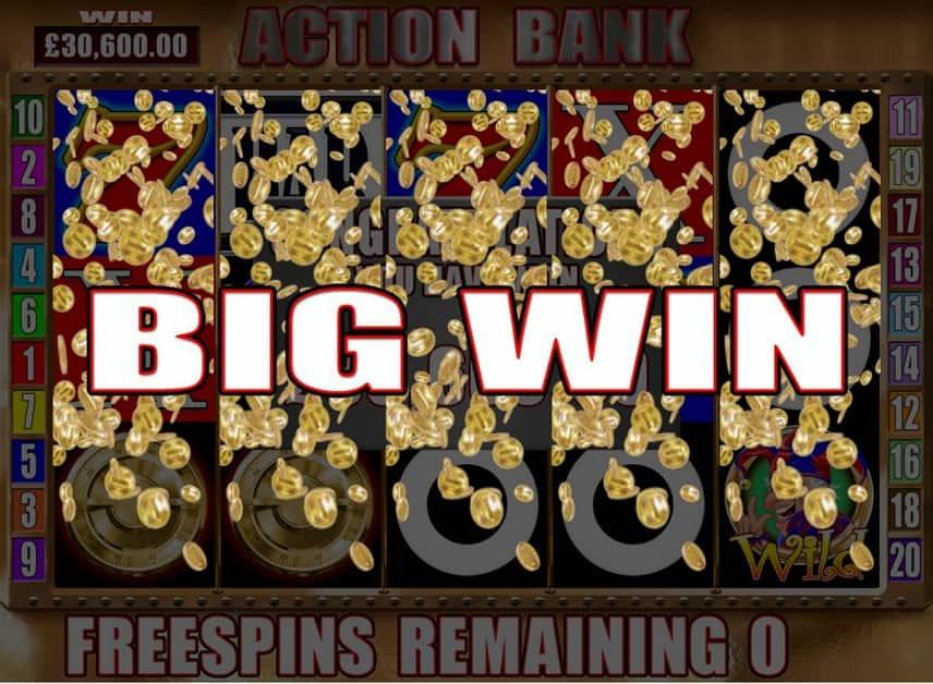 Ta hem stora vinster i Action Bank