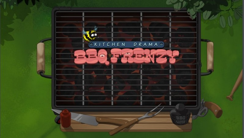 BBQ Frenzy är ett av spelen i Nolimits Kitchen Drama