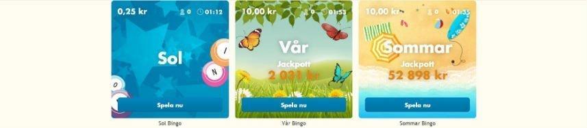 Bertil Bingo spel