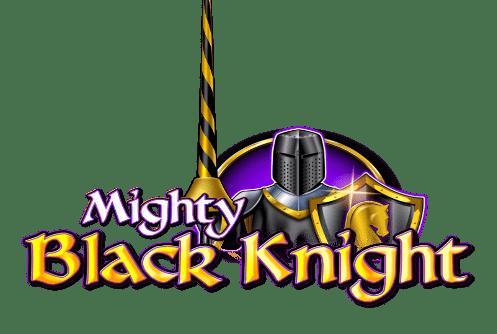 Mighty Black Knight är ett spel med mängder av rader och satsningslinjer