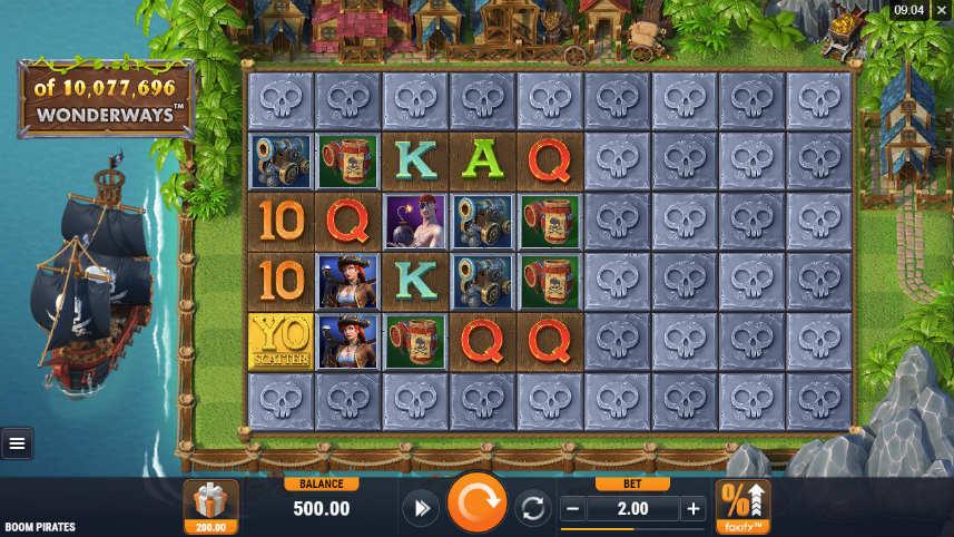 Wonderways är en ny funktion i spelautomaten Boom Pirates
