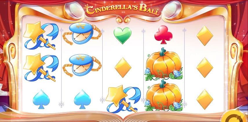 Spelet Cinderellas Ball