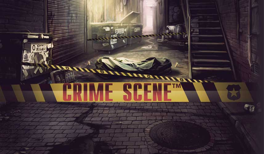 crime scene slot netent