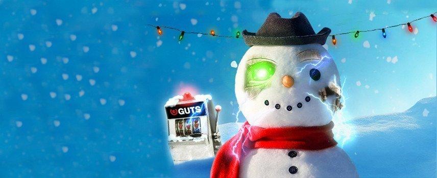 Guts kommer med massor av julklappar i form av spins och andra bonusar