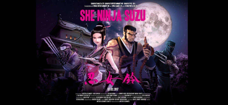 Det nya spelet She Ninja Suzu kommer med japansk stil