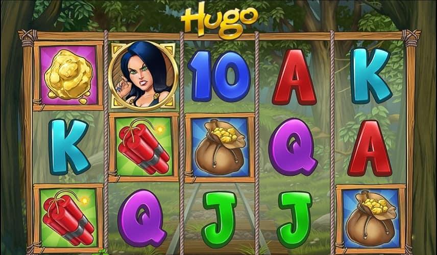 Hugo är ett spel med mängder av funktioner