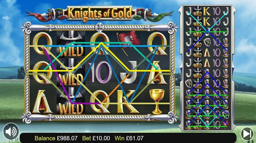 Vinstrader i Knights of Gold