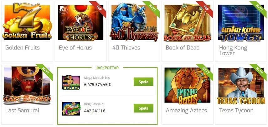 Lapalingo online casino spel