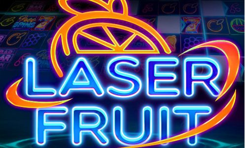 Laser fruit logo