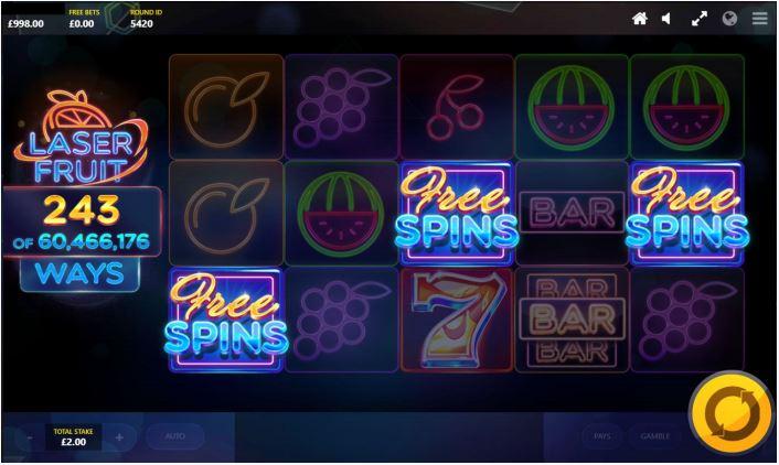 Freespins påverkar spelandet