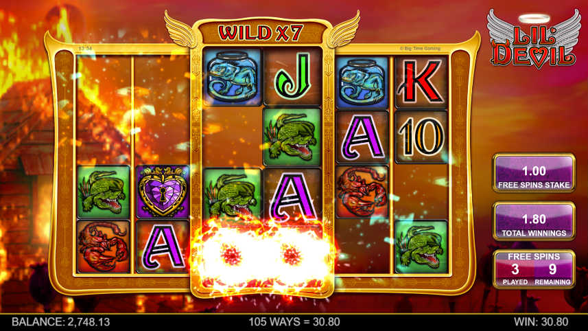bonusspel i lil devil casino slot