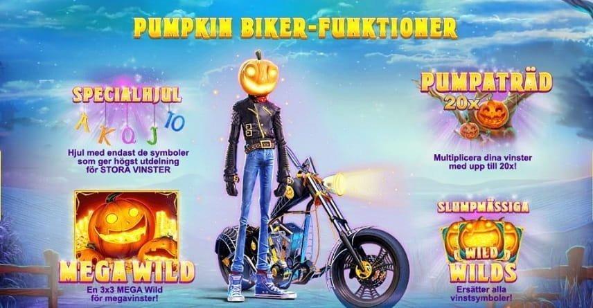 Lucky Halloween innehåller mängder av olika sätt att vinna på