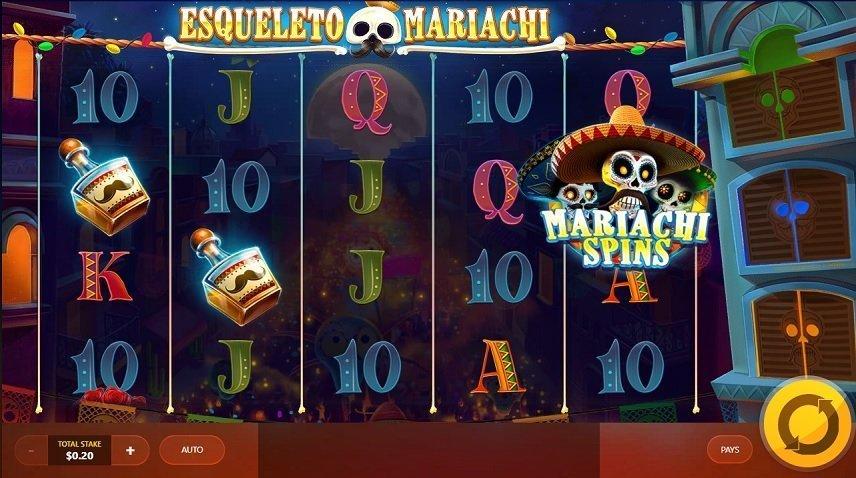 Esqueleto Mariachi levererar bland den bästa grafiken vi sett