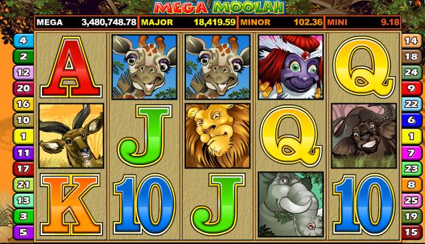 Mega Moolah är det spel som gett upphov till flest miljonärer