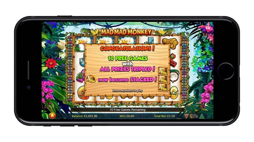 Gratis spins i Mad Mad Monkey