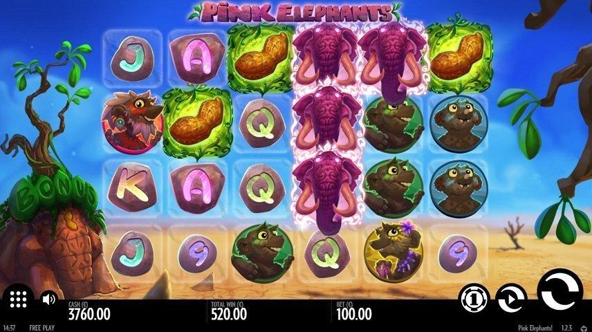 Pink Elephants är ett spel med en unik och skum stil