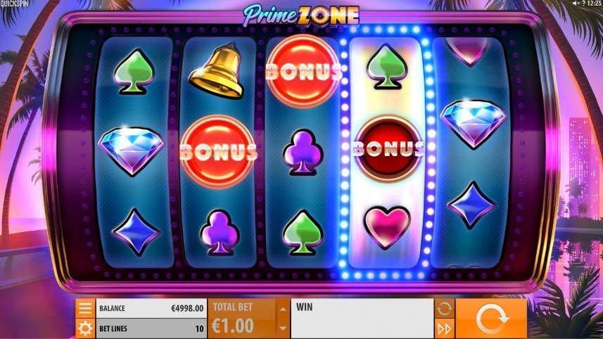 Bonussymboler i online slot Prime Zone