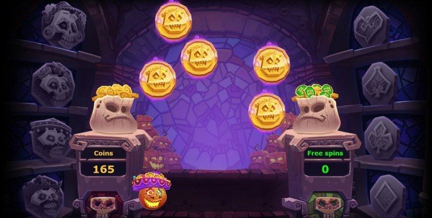 Pumpkin Smash har ett flertal olika bonusar