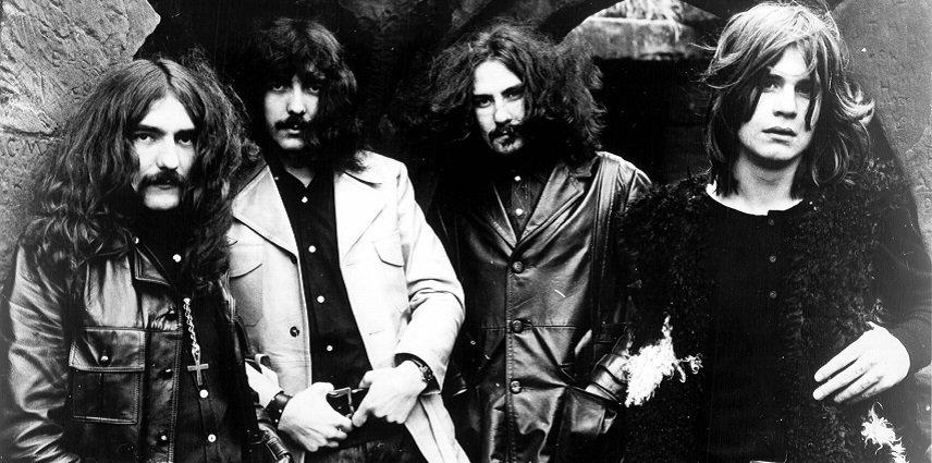 Ozzy och hans tidigare band Black Sabbath