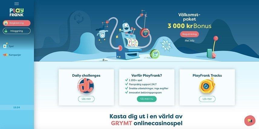 PlayFrank håller igång ett julerbjudande