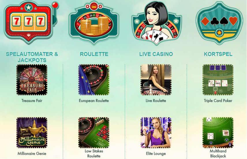 spelautomater slots casino