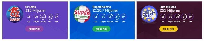 Ännu fler jackpottspel från SuperLottoClub