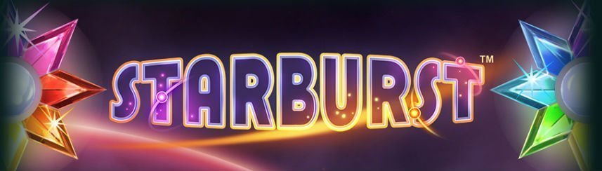 Starburst slot game banner