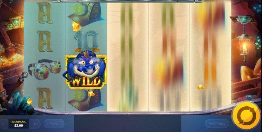 Wilds är användbara i Treasure Mine