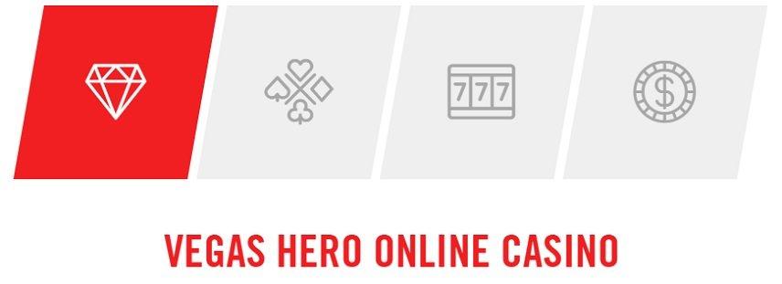 Vegas Hero är ett casino som