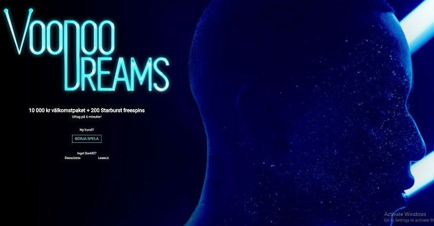 Voodoo Dreams erbjuder saftiga bonusar