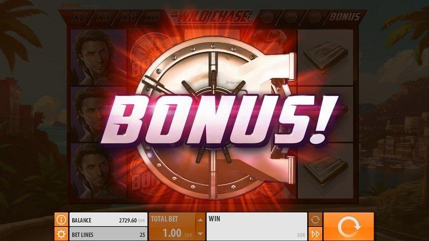Bonusen i Wild Chase är väldigt användbar