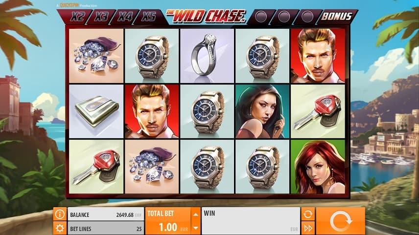 Wild Chase innehåller flera olika funktioner