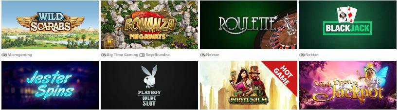 onlinespel slots casino