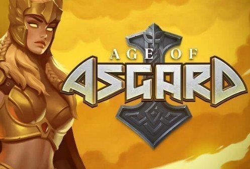 logotyp och grafik från Age of Asgard