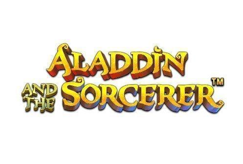 Logotyp tillhörande casinospelet Aladdin and the Sorcerer