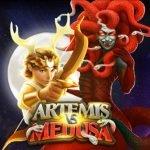 logotyp från casinospelet artemis vs medusa