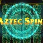 logotyp för aztec spins