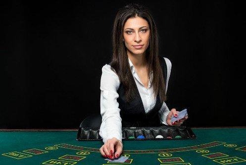 Baccarat på live casino