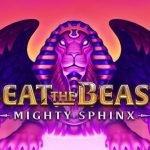 Logotyp från beat the beast mighty sphinx
