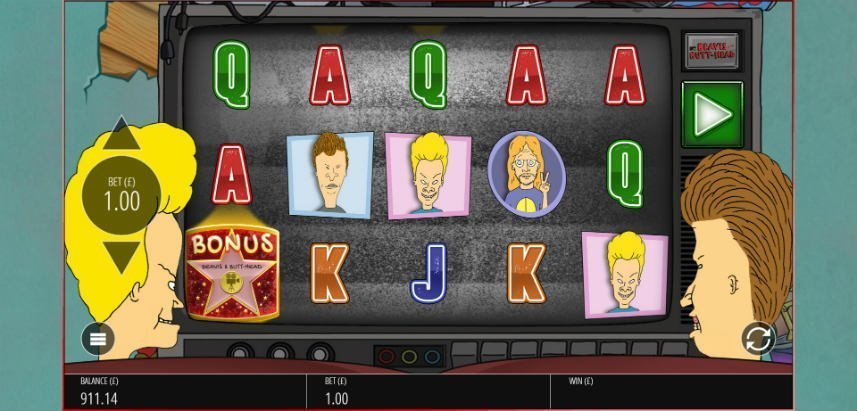 online sllot om Beavis and Butthead