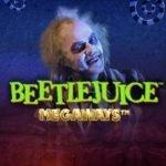 Logotyp från spelet Beetlejuice Megaways