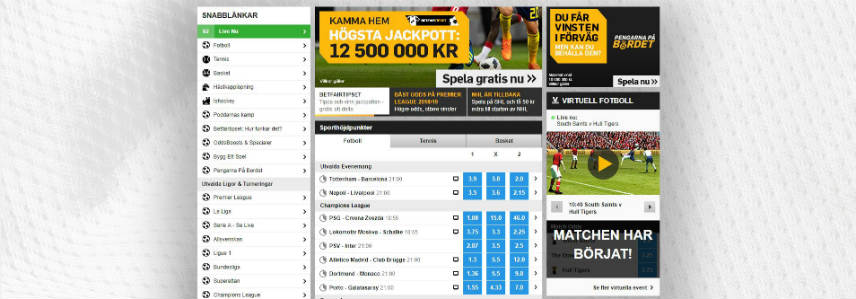 sportsbook betting hos betfair