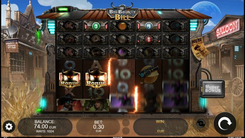 Casinospelet Big Bounty Bill från Kalamba Gaming