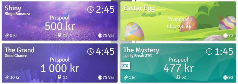 Bingospel på Bingo.com