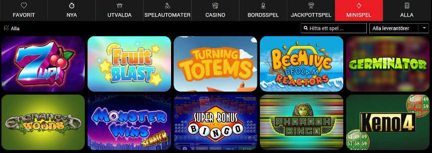 spelautomater casinospel